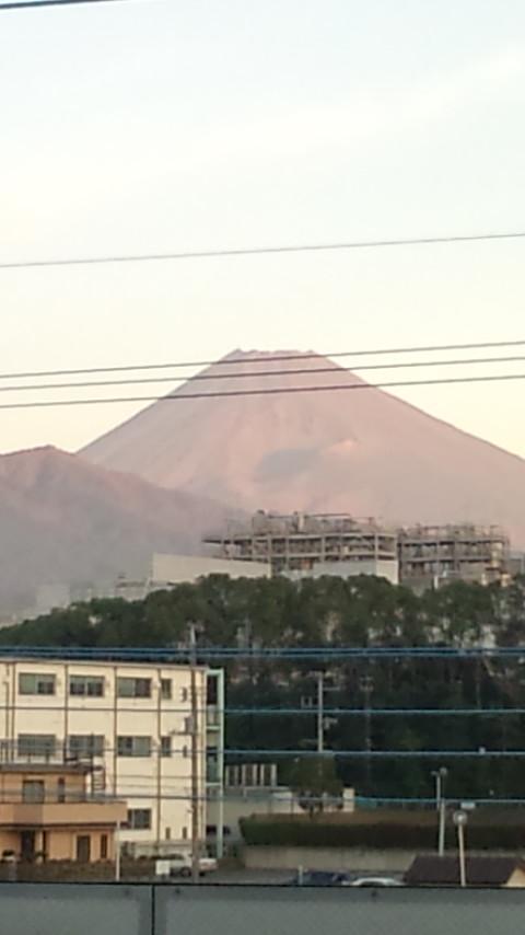 今日の富士山!