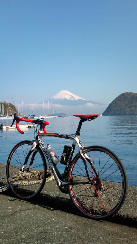 今年初のサイクリング!